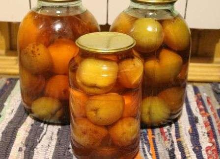 персиковый компот на зиму рецепт фото