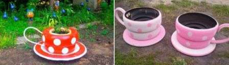 Чашки з шин