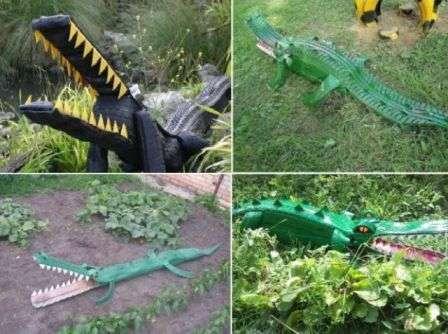 Крокодили з шини