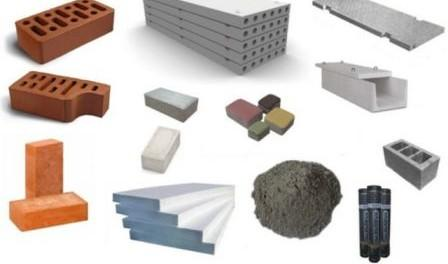 Які є будівельні матеріали