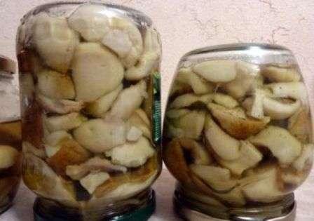 Рецепт білих грибів