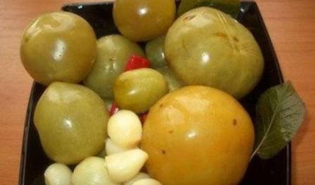 Квашені помідори в банках - рецепт приготування