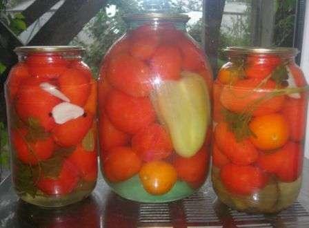 Консервовані помідори без стерилізації