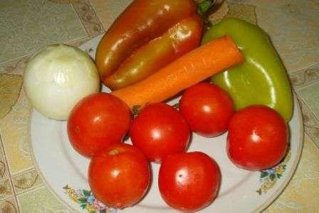 Салат з рисом на зиму рецепт приготування