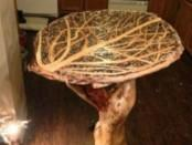 Журнальний столик своїми руками з дерева на дачу