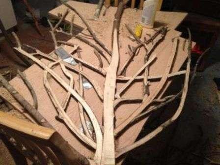 Журнальний столик своїми руками з дерева