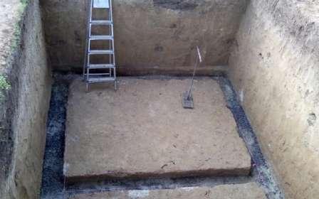 Підлога погребу фото