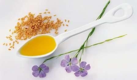Лляна олія - лікувальні властивості - для похудання