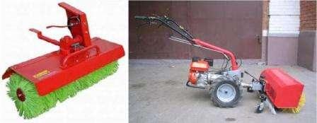 зробити снігоприбиральну машину з міні-трактора самостійно