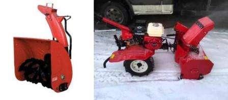 Як зробити снігоприбиральну машину з мотоблока