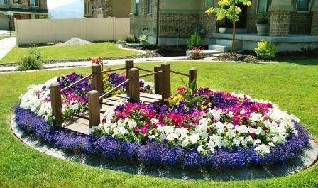 Клумби з квітами