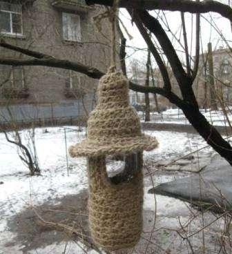 Як зробити шпаківню з дерева