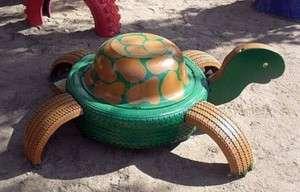 черепаха з шини