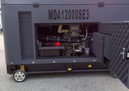 електростанція на 10 кВт Matari MDA12000SE і її трифазний аналог Matari MDA12000SE3