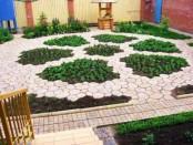 Форми для садових доріжок виготовлення своїми руками