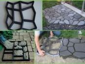 Садова доріжка своїми руками - відео та фото садових плит