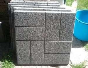 Як зробити тротуарну плитку в домашніх умовах для дачі