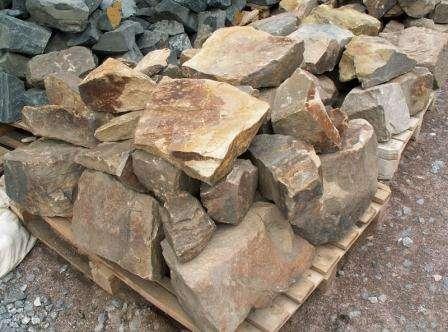 Які камені використовують при створенні альпінарію?