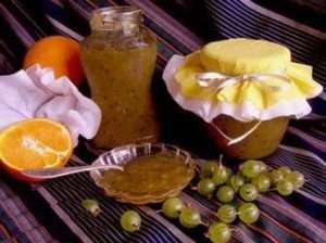 Джем з апельсинів і агрусу