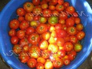 Помідори в томатному соку без стерилізації рецепт