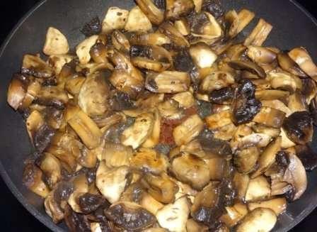 Замороження смажених грибів