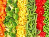 Як заморозити овочі на зиму в домашніх умовах