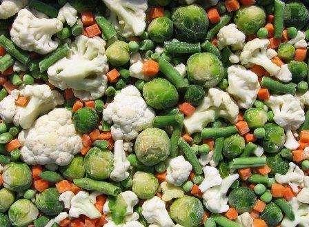 Заморожені овочі. 5 практичних порад