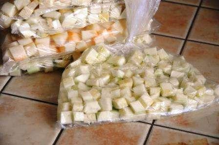 замороження овочів