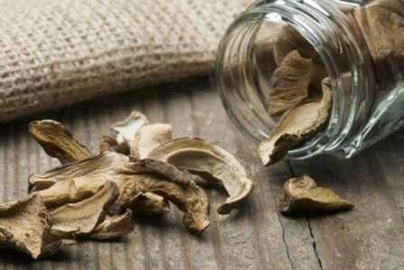 Як зберігати сушені гриби в банках