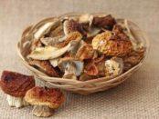 Як зберігати сушені гриби на зиму в домашніх умовах