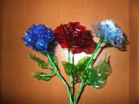 квіти з пластикових бутилок своїми руками