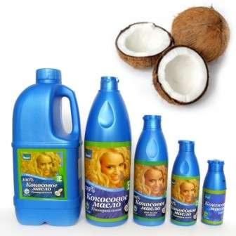 Кокосова олія застосування для волосся