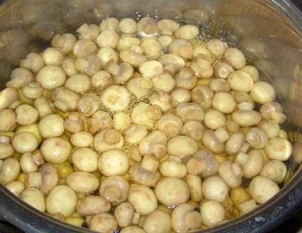 Рецепт приготування маринованих грибочків: