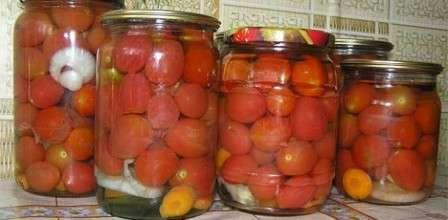 Маринування солодких помідорів