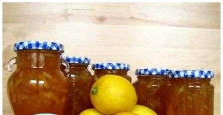 Варення з яблук і лимоном