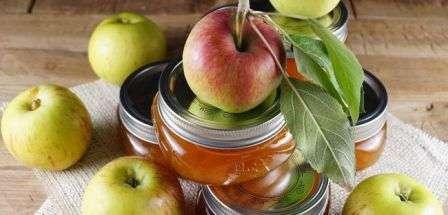 Варення з яблук рецепт на зиму з фото (дольками янтарне)