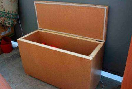деревяний ящик для зберігання
