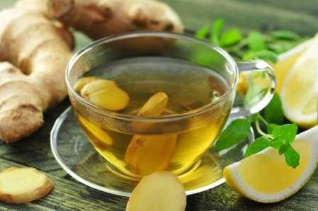 Чай з імбиром і лимоном - покроковий рецепт