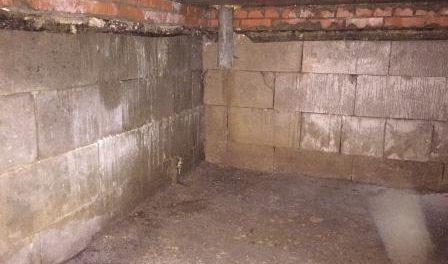 Як зробити гідроізоляцію підвалу з середини від грунтових вод