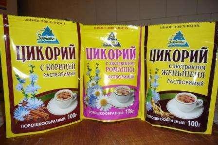 Цикорій як замінник кави