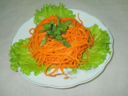 Заготовки на зиму з моркви по корейські
