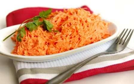 Кращі рецепти - салатів з моркви