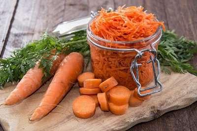 Заготовки из моркови на зиму рецепт