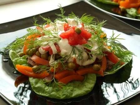 Салат з куркою «Діана»