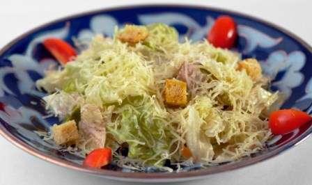 Вегетаріанський салат «Цезар»