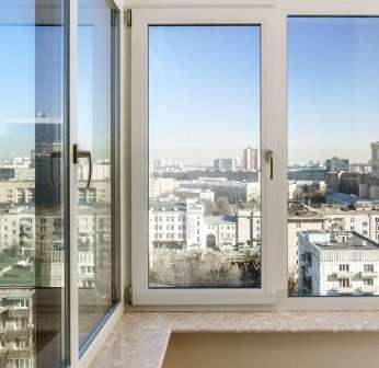 Металопластикові вікна зі склопакетами - оптимальний варіант для утеплення балкона