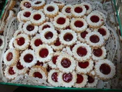 Мигдальне печиво з варенням (Spitzbuben)
