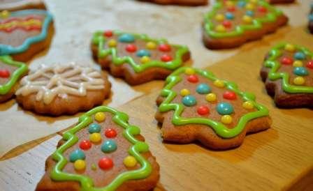 Рецепт приготування медово-імбирного печива на Новий Рік та Різдво