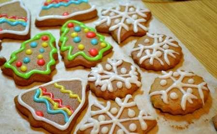 Рецепт приготування медово-імбирного печива на Новий Рік