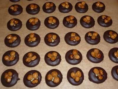 шоколадне печиво з горіхами на різдво